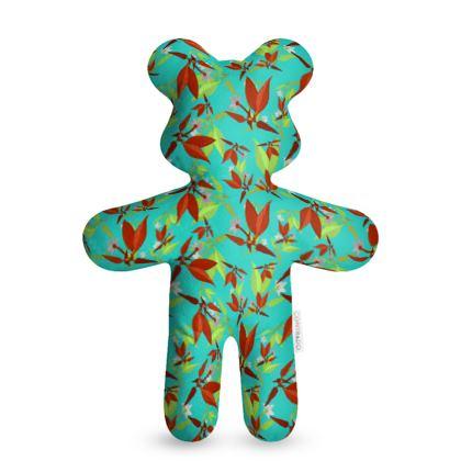 Teddy Bear, Teal, Cinnamon, Leaf  Jasmine  Emerald