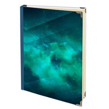 Address Book - Emmeline Anne Sky Stationery - Green  Clouds
