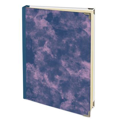 Address Book - Emmeline Anne Sky Stationary - Cloudy Pink Skies
