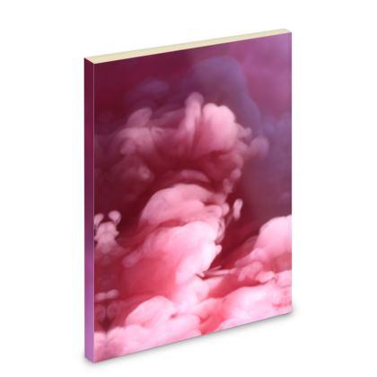 Pocket Note Book - Emmeline Anne Sky Stationery - Pink Clouds