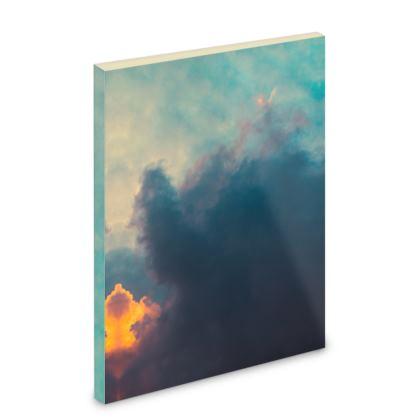 Pocket Note Book - Emmeline Anne Sky Stationary - After The Storm