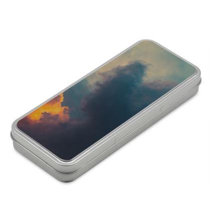 Pencil Case Box - Emmeline Anne Sky Stationary  - After The Storm