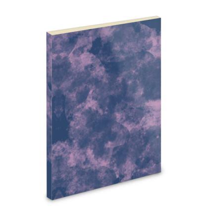 Pocket Note Book - Emmeline Anne Sky Stationary - Cloudy Pink Skies