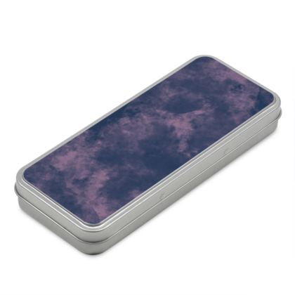 Pencil Case Box - Emmeline Anne Sky Stationary  - Cloudy Pink Skies