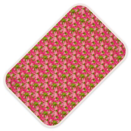 Baby Changing Mats Pink, Green, Flowers  Alpina  Candyfloss