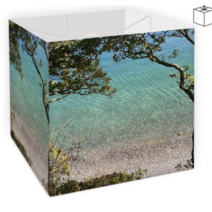 Grebe beach Crystal clear waters Lamp Shade