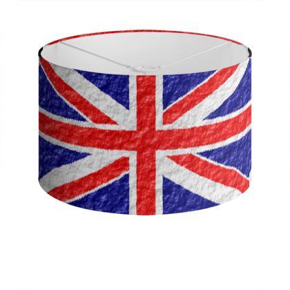 Lamp Shade Union Jack Flag