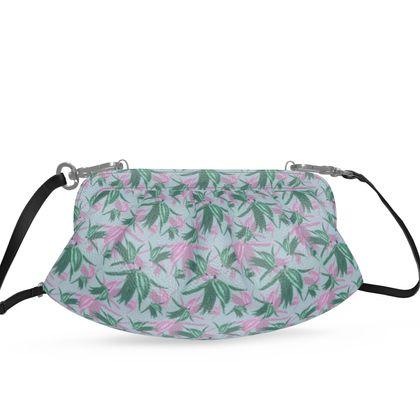 Pleated Soft Frame Bag Blue, Lilac,  Alpina  Silent Stream.