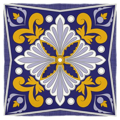 Moroccan Tile Scarf