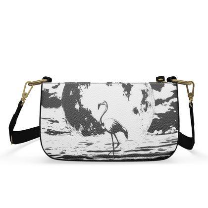 Small Zip Box Bag - Flamingo