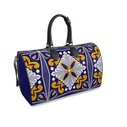 Moroccan Tile Duffle Bag