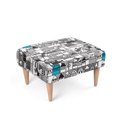 Hillside Footstool