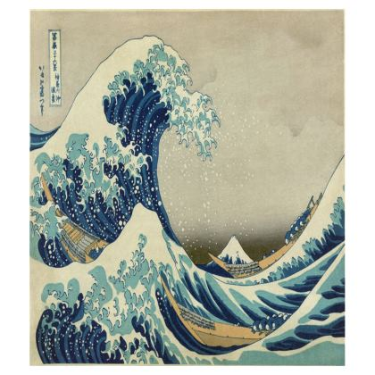 Tray: Great Wave Off Kanagawa By Katsushika Hokusai