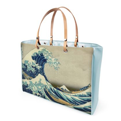 Handbag: Great Wave Off Kanagawa By Katsushika Hokusai