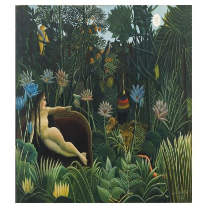 Tray: The Dream By Henri Rousseau