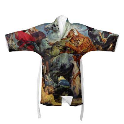 Kimono: The Tiger Hunt By Peter Paul Rubens