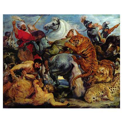 Handbag: The Tiger Hunt By Peter Paul Rubens