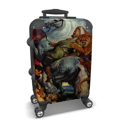 Suitcase: The Tiger Hunt By Peter Paul Rubens
