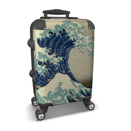 Suitcase: Great Wave Off Kanagawa By Katsushika Hokusai