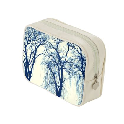 The Blue Trees Make Up Bag