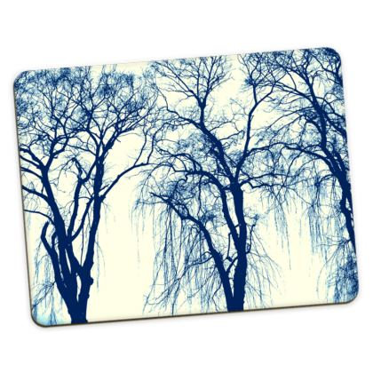 Blue Trees Placemat