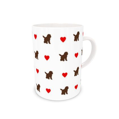 Bone China Mug chocolate dog