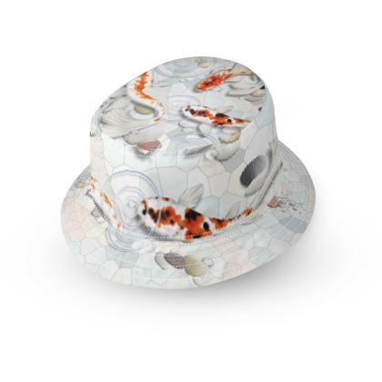 Bucket Hat - 'Clear Water Koi', Artwork One