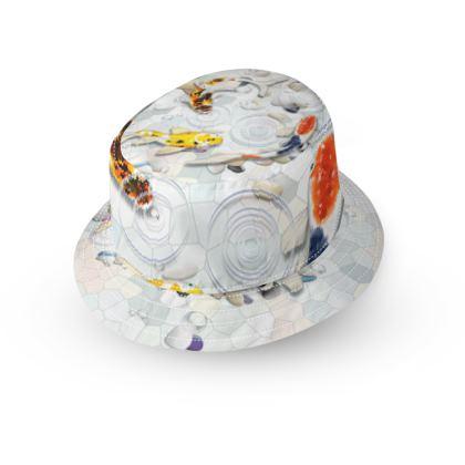 Bucket Hat - 'Clear Water Koi', Artwork Two