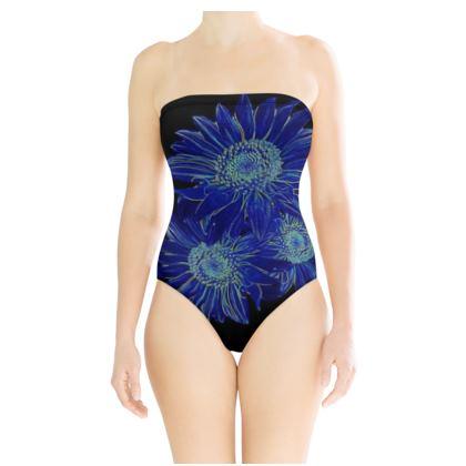 BB Sportswear Strapless Swimsuit