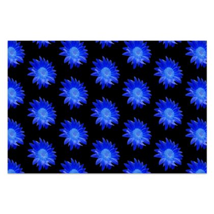 BB beautiful Blue Silk Sarong