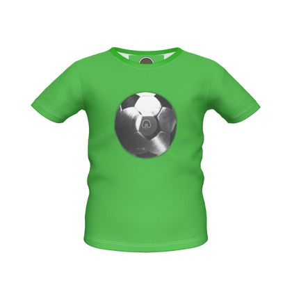 Boys Simple T-Shirt - Football Vinyl