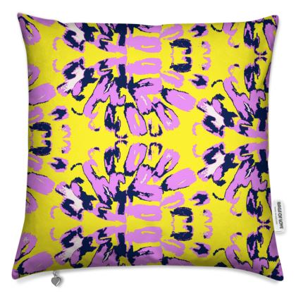 Coral Blossom Cushion
