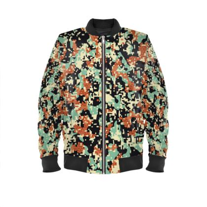 Urban Army Man Bomber Jacket