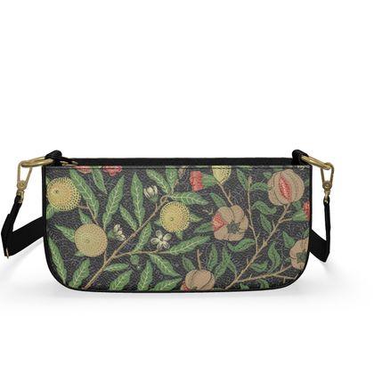 Medium Zip Box Bag - Fruit Pattern (1862) Remaster