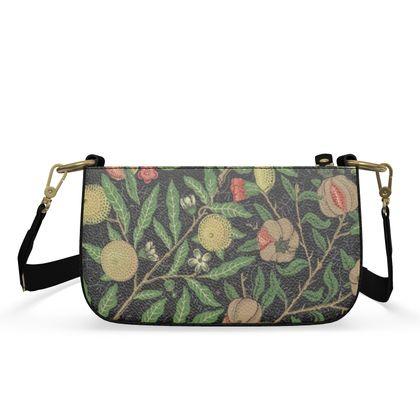 Small Zip Box Bag - Fruit Pattern (1862) Remaster