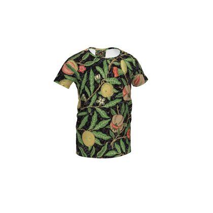 Girls Simple T-Shirt - Fruit Pattern (1862) Remaster