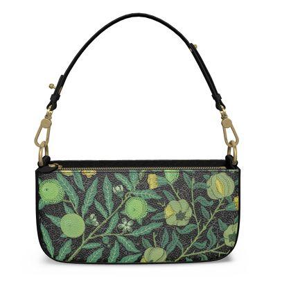 Medium Zip Box Bag - Fruit Pattern (1862) Remix