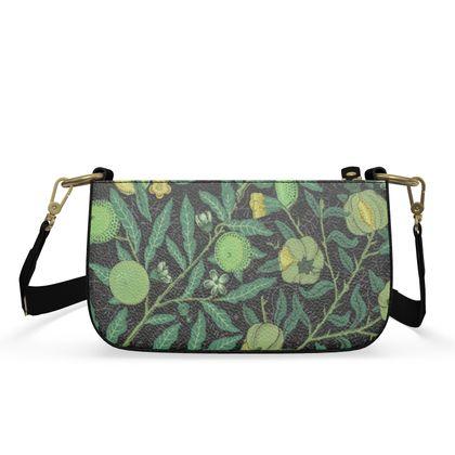 Small Zip Box Bag - Fruit Pattern (1862) Remix