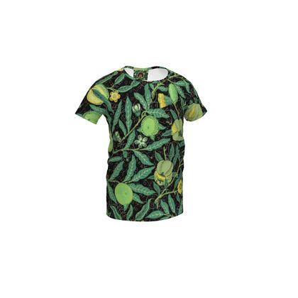 Girls Simple T-Shirt - Fruit Pattern (1862) Remix