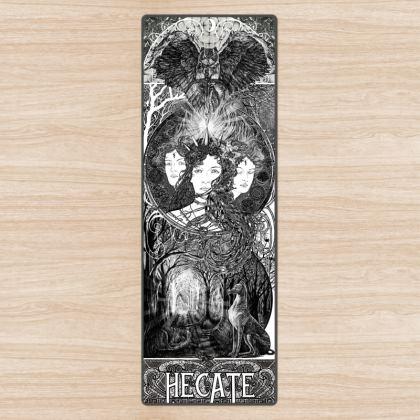 'Hecate - The goddess of Magic Yoga Mat