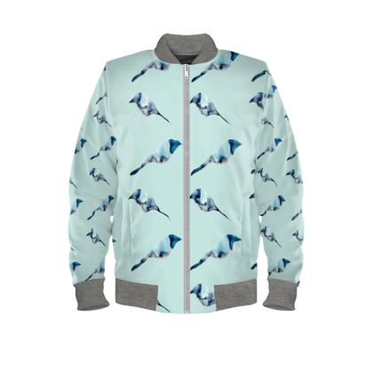 Blue bird Ladies Bomber Jacket