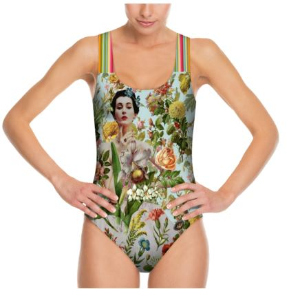 Flowers Abound Swimsuit