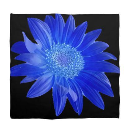 BB Beautiful Blue Cotton Bandana