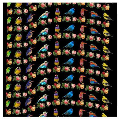 All The Birds and Roses Kimono