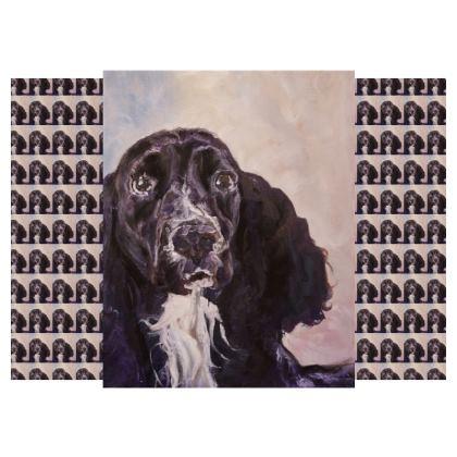 Monty the Spaniel Fine Chair by Somerset (UK) Artist and Designer Amanda Boorman