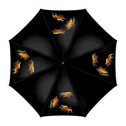 "Regenschirm ""Whippet-Trio"""