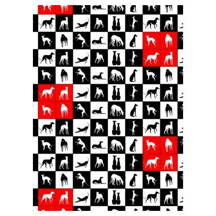 """Socken """"Windhund Patchwork"""""""