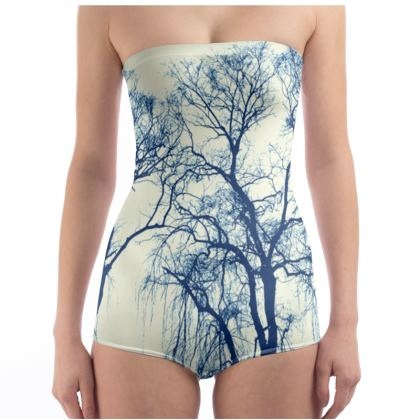 Blue Trees Swimsuit