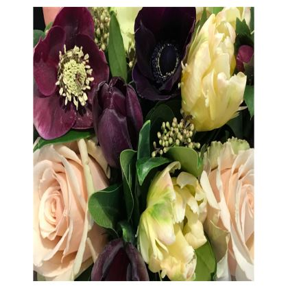 Trays - Hellebore, Anemone, Tulips, Roses