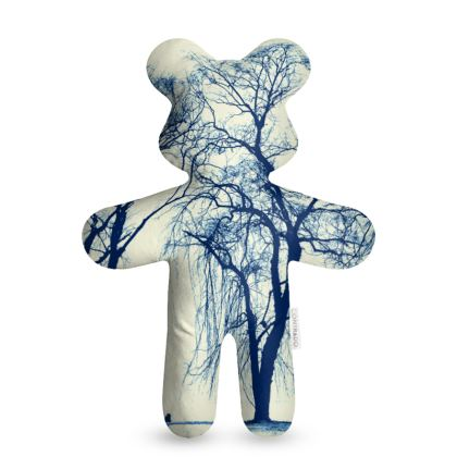 Blue Trees Teddy Bear